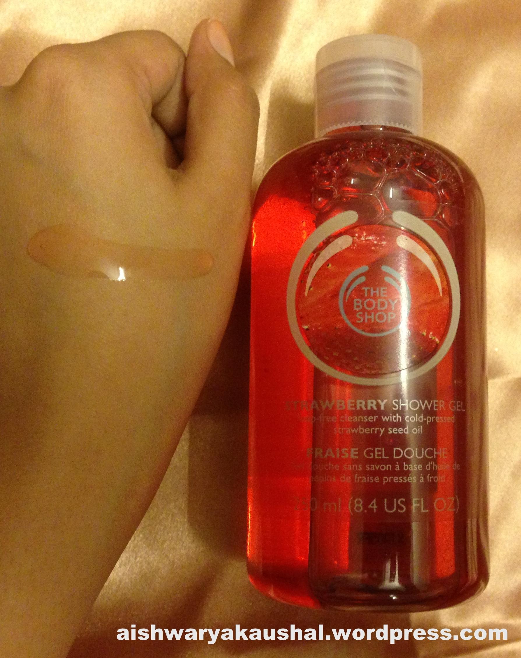 The Body Shop Strawberry Range : Shower Gel, Body Polish, Body ...