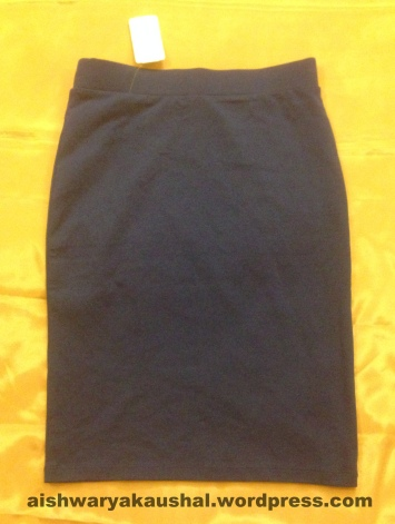 63c76caf Blue Pencil Skirts – They were around Rs. 500/-